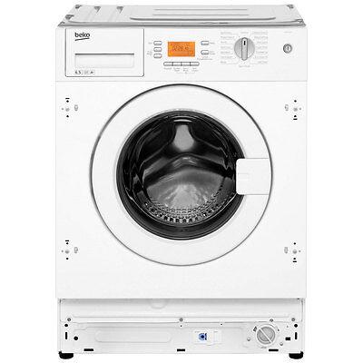 Beko WMI651241 A+ 6Kg 1200 Spin Washing Machine White New from AO