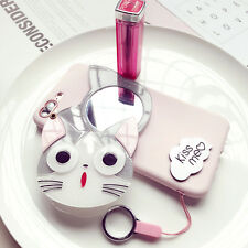Ho Cute Cartoon Japan South Korea 3D Cosmetic Mirror Soft Case For iPhone 74.7""