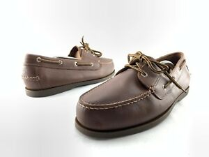 76b28afcf8fa4 Dockers Vargas Men s Brown Leather Casual Classic Boat Shoes US 11.5 ...