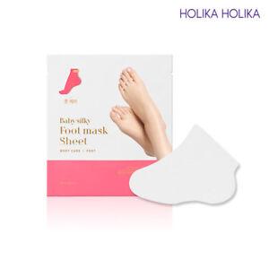 HOLIKA-HOLIKA-Baby-Silky-Foot-Mask-Sheet-1Set-New-Version-Korean-Cosmetic
