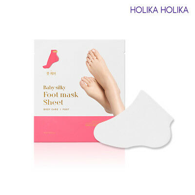 [HOLIKA HOLIKA] Baby Silky Foot Mask Sheet 1Set / Korean Cosmetic