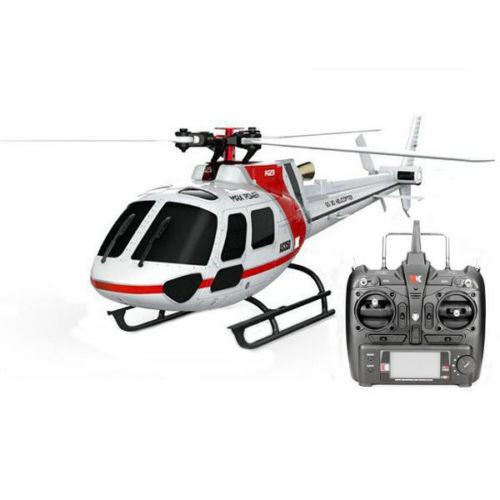 Original-XK K123 6CH Brushless AS350 Scale RC  Helicopter RTF Mode 2  negozio all'ingrosso