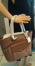 Michael Kors Jet Set Nylon Large Pocket Multi-Function Tote in Dusty Rose NWT!