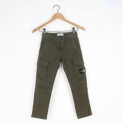 Stone Island Junior J3211 Dark Rinse Skinny Fit Jean