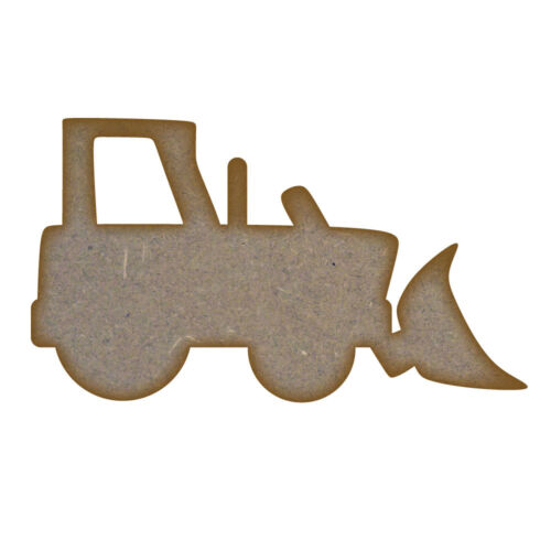 Digger MDF Laser Cut Craft Blanks in Various Sizes