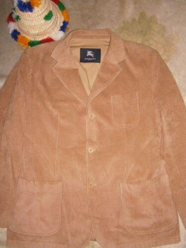 Burberry London Men Blazer Jacket 100% Cotton Size