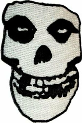 "The Misfits 2.2/"" x 3.2/"" Logo Sew Ironed On Badge Embroidery Applique Patch"