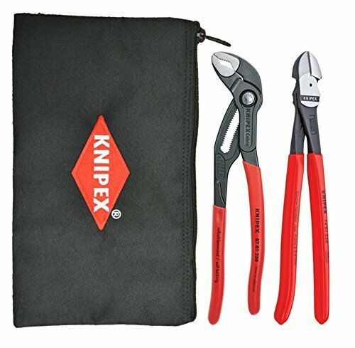 Knipex 9K-00-80-115-US 2 Piece Pliers Set with Pouch