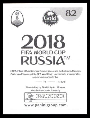 Egipto Saad el-Din Samir Nº 82 versión para Suiza de oro Panini Copa del Mundo 2018