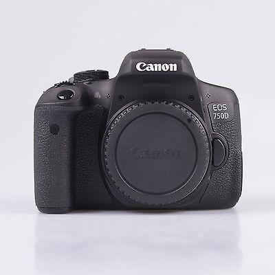 Canon EOS 750D Cuerpo - Negro