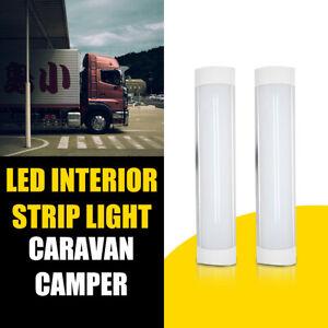 2PCS-12V-LED-Interior-Strip-Light-Caravan-Van-Trailer-Boat-Home-Awning-Motorhome