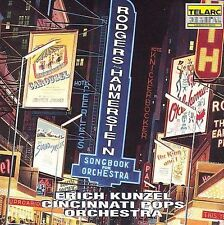 Rodgers & Hammerstein: Songbook for Orchestra (Orchestral Suites) by Cincinnati Pops Orchestra/Erich Kunzel (Conductor) (CD, Feb-1992, Telarc Distribution)