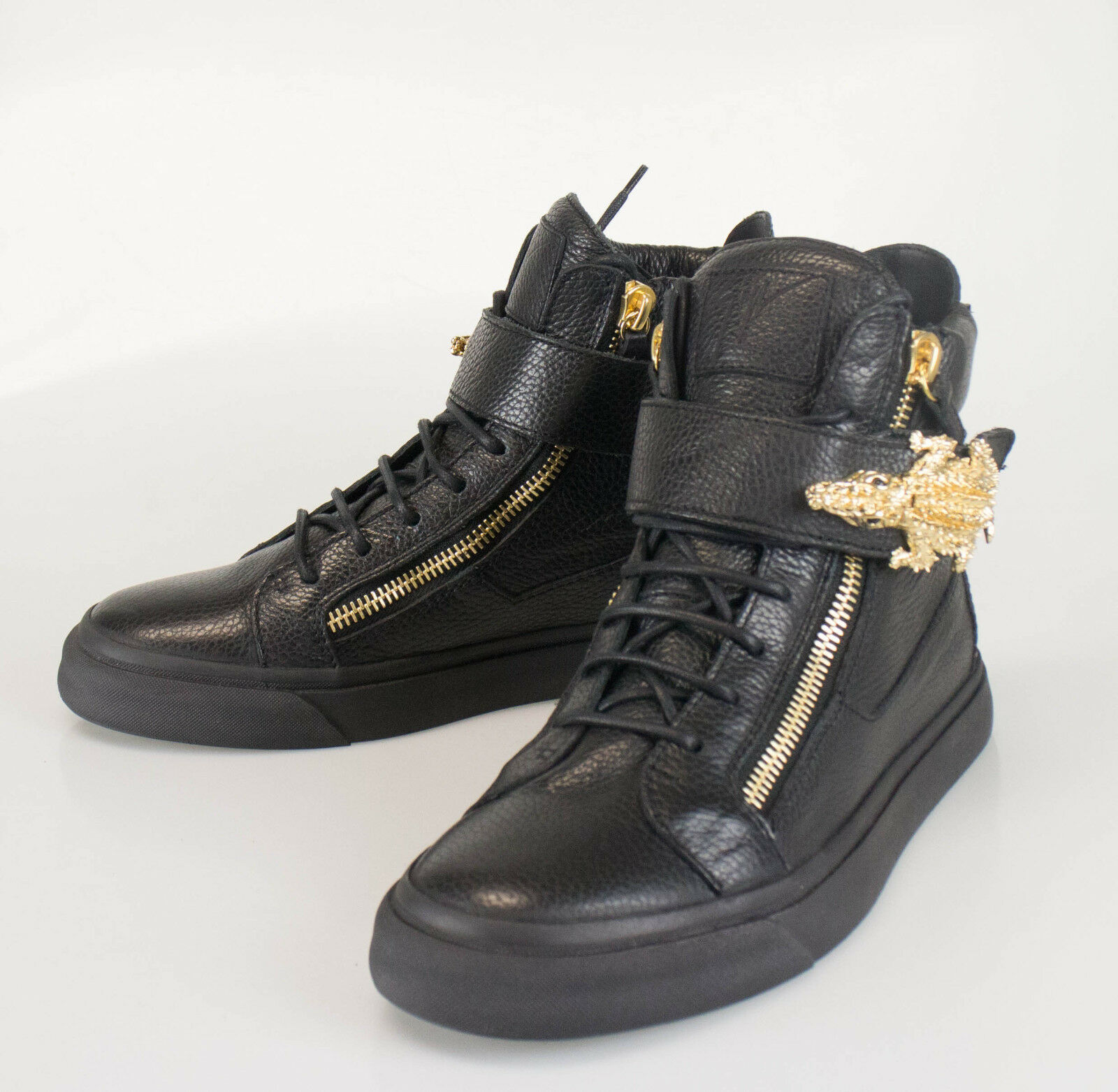 New. GIUSEPPE ZANOTTI London Lindos-Vague Sneakers Shoes 13 US 46 EU 1395