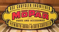 Mopar Chrysler Vintage Style Retro Metal Tin Plymouth Dodge Garage Man Cave Race