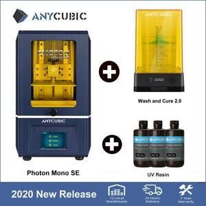 Anycubic Photon Mono SE Imprimante 3D UV Résine||Wash&Cure 2 Machine 3D Printing