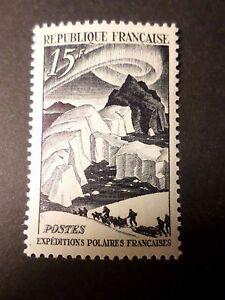Hospitalier France 1949, Timbre 829, Expedition Polaire, P. E. Victor, Neuf**, Vf Mnh Stamp Volume Large
