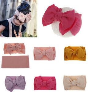 2019-Bow-Bowknot-Princess-Soft-Hairband-Headband-Turban-Headwrap-for-Baby-Unisex