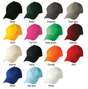 6e6bf733 Boys / Girls Plain Cotton Baseball Caps / Golf Hats / Outdoor Sport ...