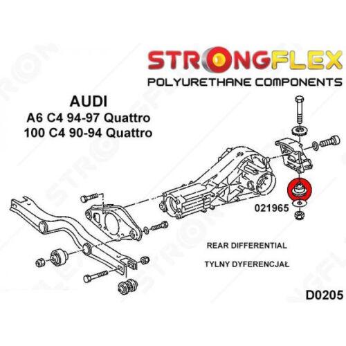 Busch Sport Du Halter Differential Hintere für Audi 100 C4 90-94 Quattro