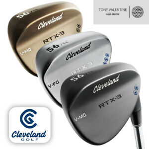 Cleveland-RTX-3-Wedge-Available-in-Chrome-Black-or-Raw-Select-your-loft