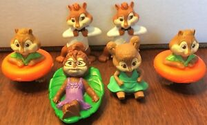 Lot Of 6 Mcdonalds Alvin The Chipmunks Chipwrecked Toys Figures Ebay