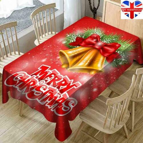 Christmas Tablecloth Dust-Proof Thanksgiving Table Cover Home//Party Decorative