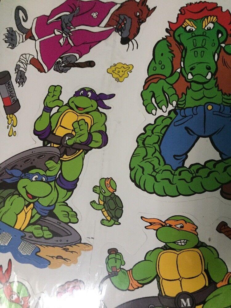 TMNT 1989 Decorating Kit Birthday Birthday Birthday Party Vintage 36528f
