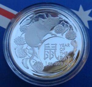 2020-Australian-Year-Of-The-Rat-5-Domed-Proof-silver-coin-999-fine-silver