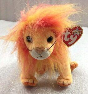 TY McDonald/'s Teenie Beanie Baby Bushy the Lion NIP w//tag