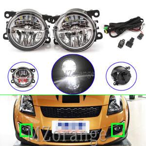 LED-Fog-Light-Lamps-Wiring-Kits-For-Mitsubishi-Challenger-Outlander-Pajero-Sport
