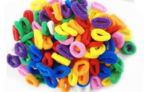 Mini Hair Ponios Ponios Endless Elastics Bobbles Bands
