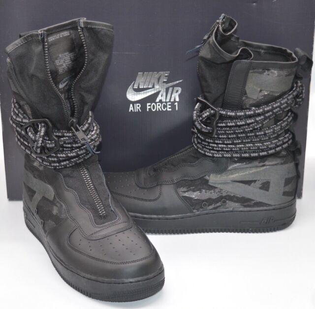 Lifestyle Nike SF Air Force 1 Hi Mens BlackDark Grey