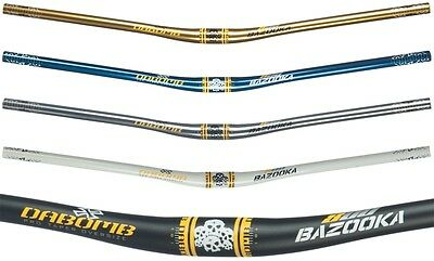 "New Da Bomb /""BAZOOKA 800/"" MTB AM-DH Riser 9° Handlebar 31.8 mm//800mm 6 Colors"