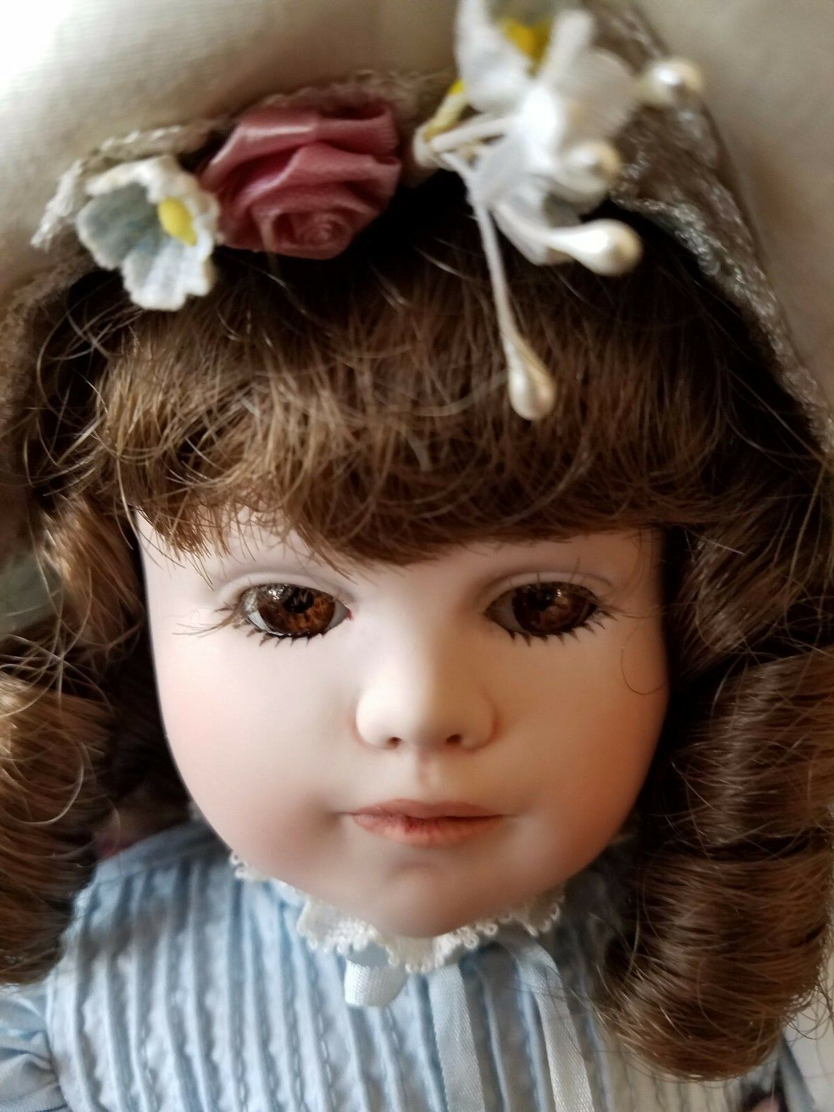 Jan Hagara's Pretty Doll Bonnie 15  Porcelain