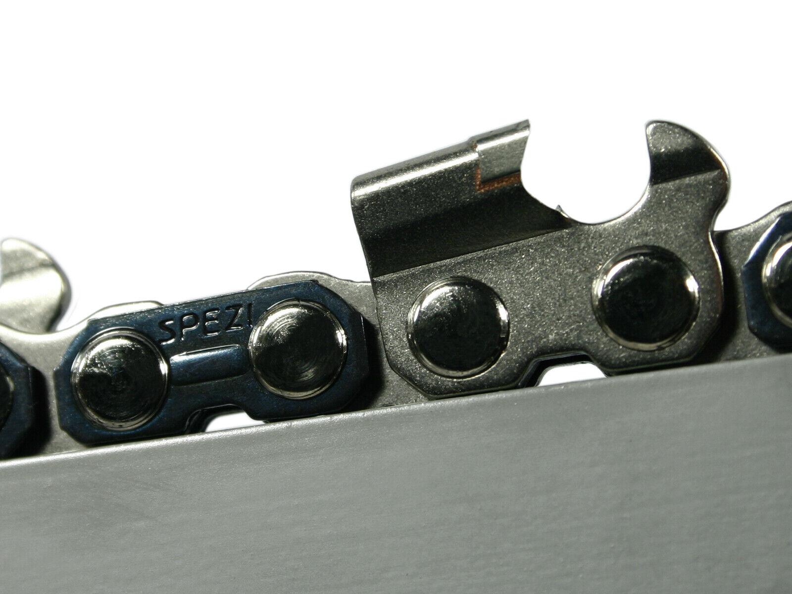 Metal duro para sierra cadena compatible con still 075 076 Av 53 cm 404  68 TG 1,6 mm Chain