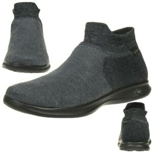 Details about Skechers Go Step Lite Ultrasock Ladies Shoes 14507 BBK