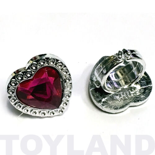 TOY HEART JEWEL RINGS GIRLS PRINCESS LOOT GIFTS FAVOR BIRTHDAY PARTY BAG FILLERS
