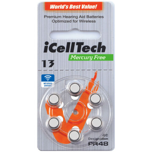 IN3 CP iCellTech 60st.Typ13 batterien für Bernafon INIZIA 3 Compact Power BTE