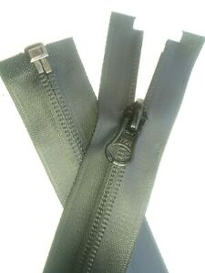 70cms to 85cms Waterproof Zips Navy open end Red and Grey FREE P/&P Black
