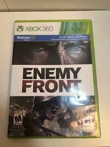 Details about 🔥 Enemy Front Xbox 360 Walmart Edition Free DLC Brand New  2014