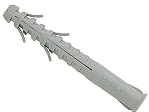 GS12 oder M12 FISCHER 059189 S-H-R 16x160mm Langschaftdübel Rahmendübel für z.B