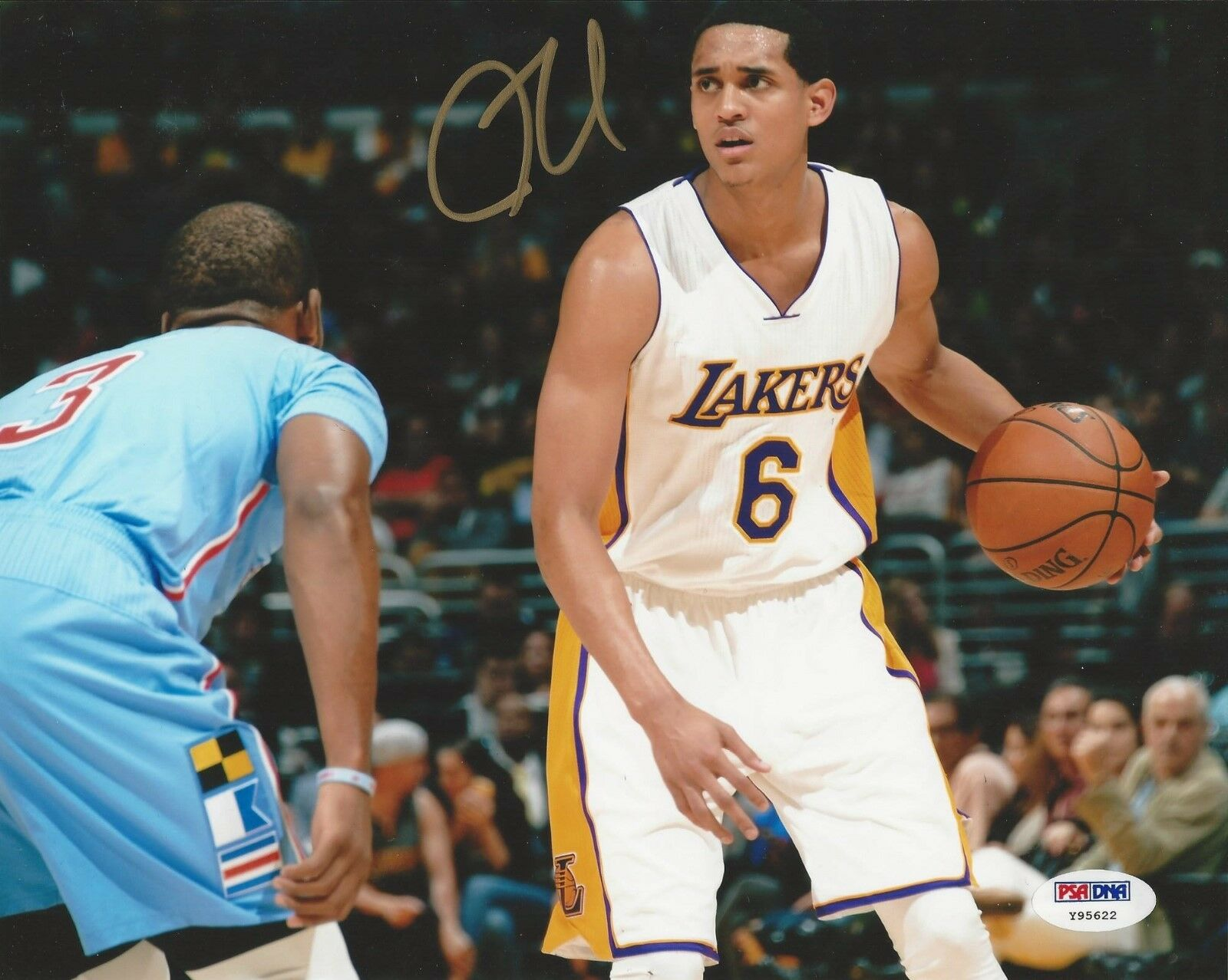Jordan Clarkson Of The LA Lakers Signed 8x10 Photo - PSA/DNA # Y95622