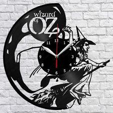 The Wizard Of Oz Movie Vinyl Record Wall Clock Decor Handmade 1365