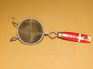Vintage Kitchen Utensil 8 1 4 Quot Long Red Wood Handle