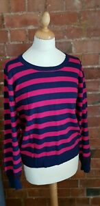DICKINS-AND-JONES-WOOL-BLEND-TOP-JUMPER-SIZE-XL