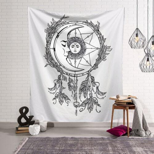 Art Tapestry Wall Hanging Polyester Mandala Tarot Van Gogh Blanket Mat Bedspread