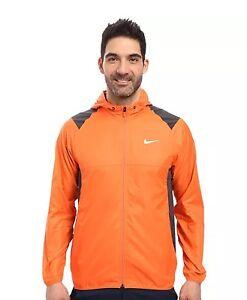 New-Nike-Golf-Water-Resistant-Lightweight-Jacket-sz-M-Orange-803317-842-120