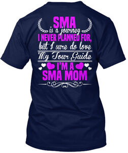 Mother-Of-Spinal-Muscular-Atrophy-Child-Sma-Mom-Is-A-Hanes-Tagless-Tee-T-Shirt