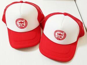 Konami Pawapuro Genuine Promotional Baseball Cap Game Hat x 2 Japan 0103A22