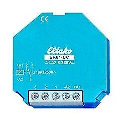 Eltako ER61-UC Schaltrelais 1 Wechsler 16A Art 61001601